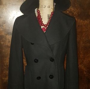 Black wool jacket made by Guess